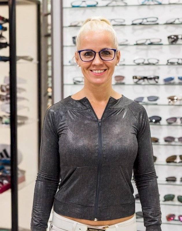 Belényi Bea multifokális szemüvegproba