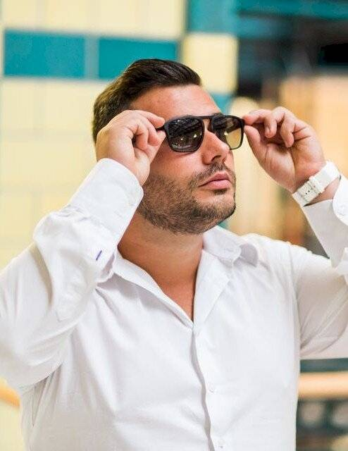 Bikfalvi Tamás dioptriás napszemüveg