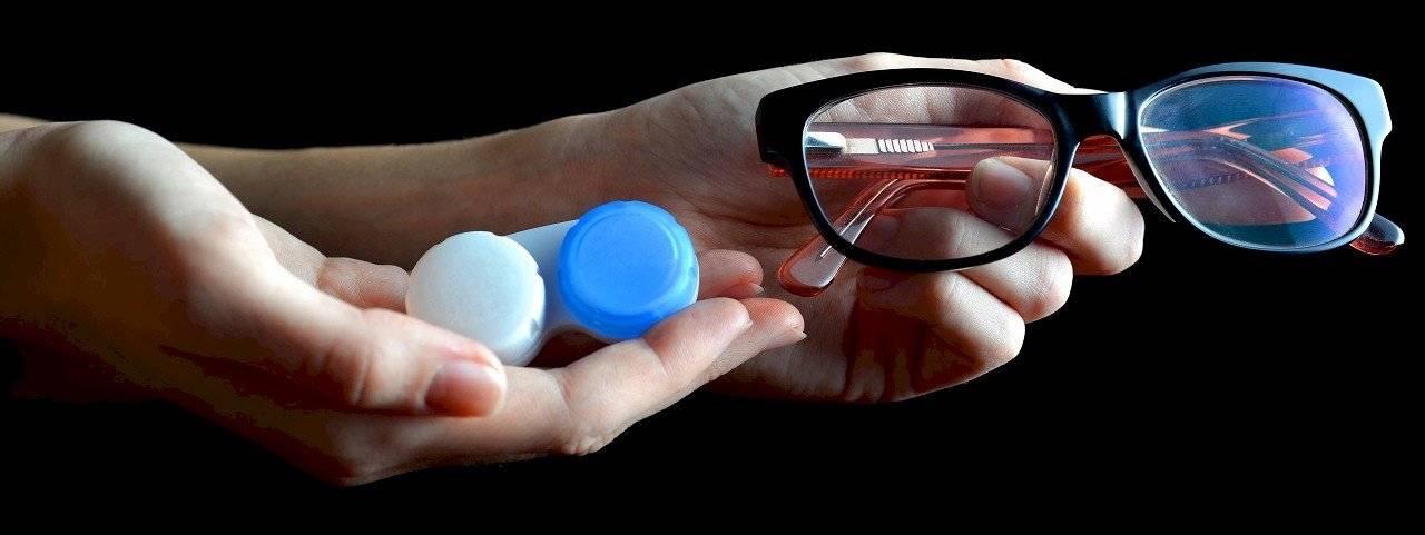 kontaktlencse vagy szemüveg