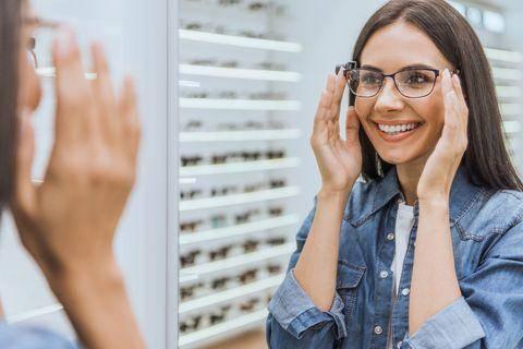 progresszív szemüveglencse